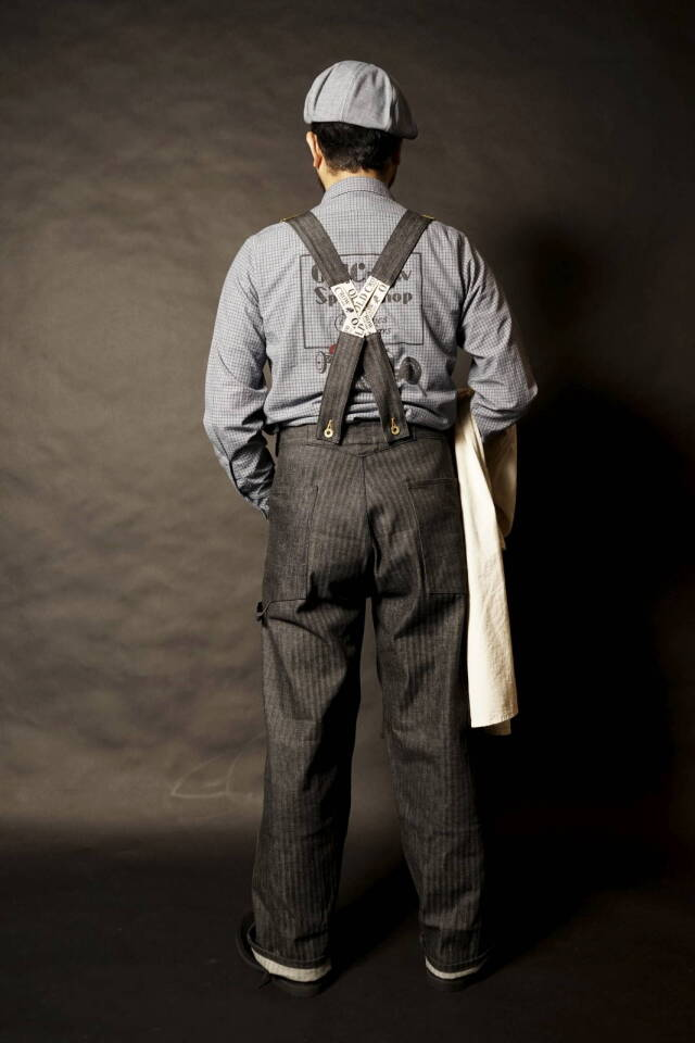 OLD CROW OLD RODDER - OVERALL BLACK