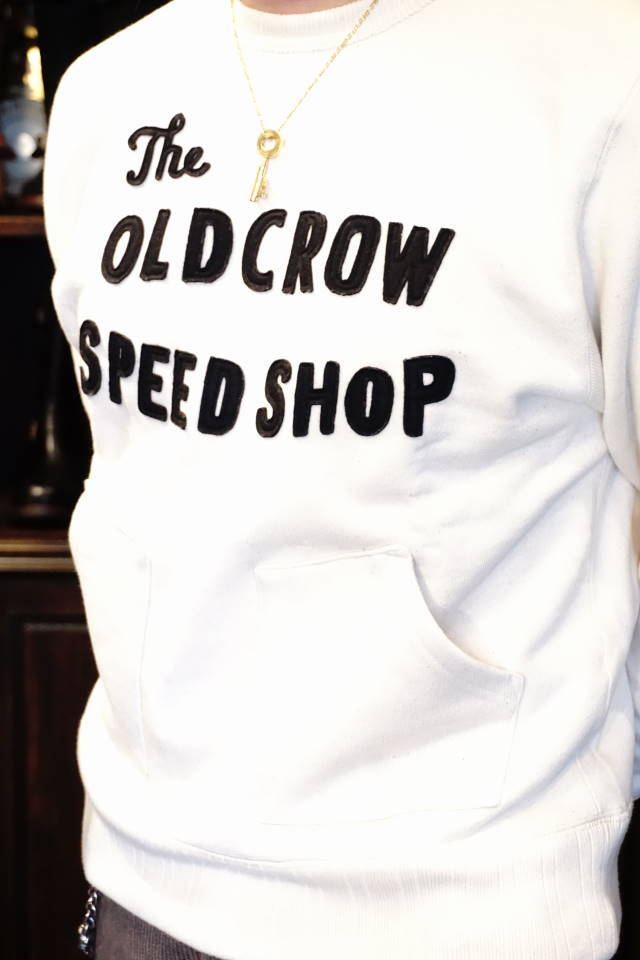 OLD CROW RODDER CLUB - SWEAT IVORY