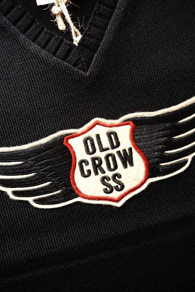 OLD CROW CROW WING - VEST BLACK