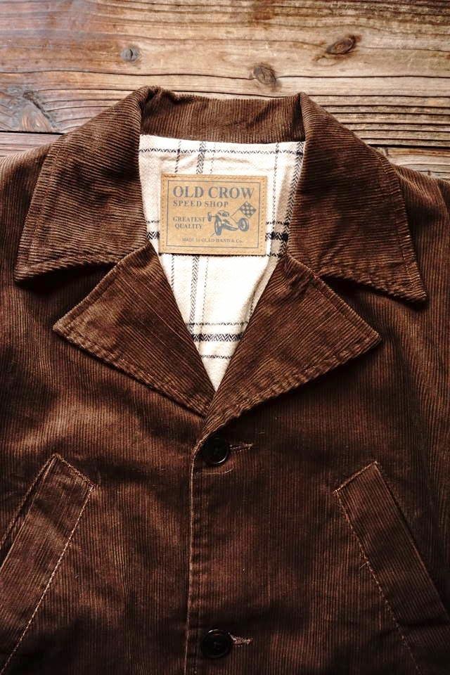 OLD CROW SPEED SHOP - COAT BROWN
