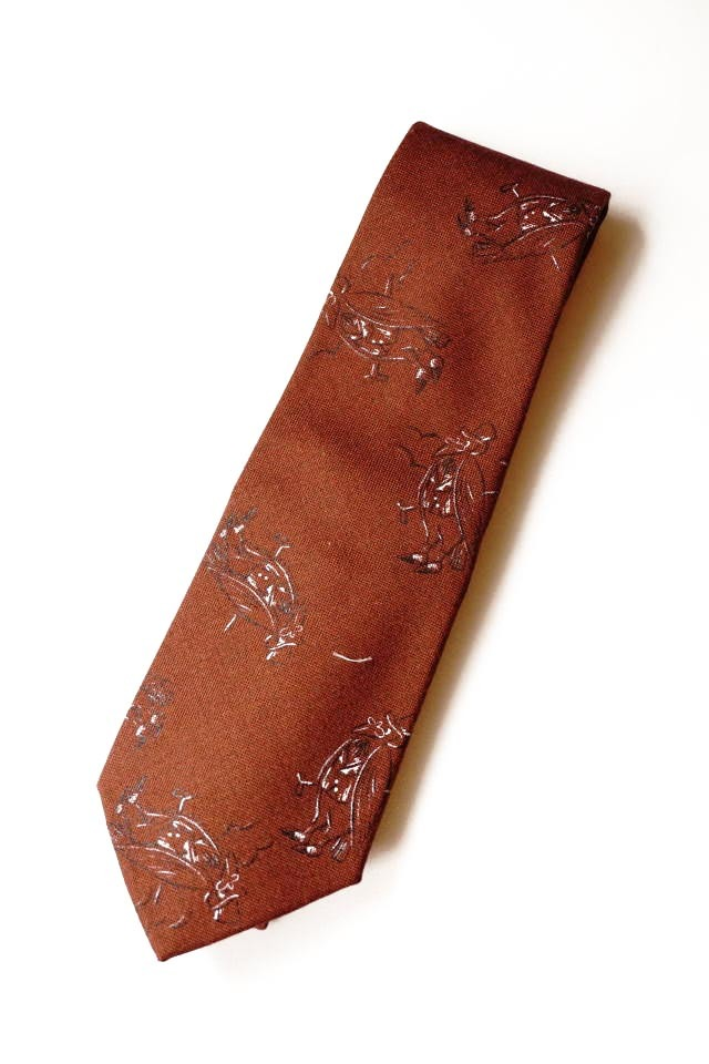 OLD CROW - TIE BROWN