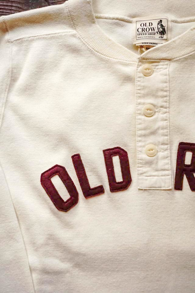 OLD CROW 1952 - L/S T-SHIRTS WHITE