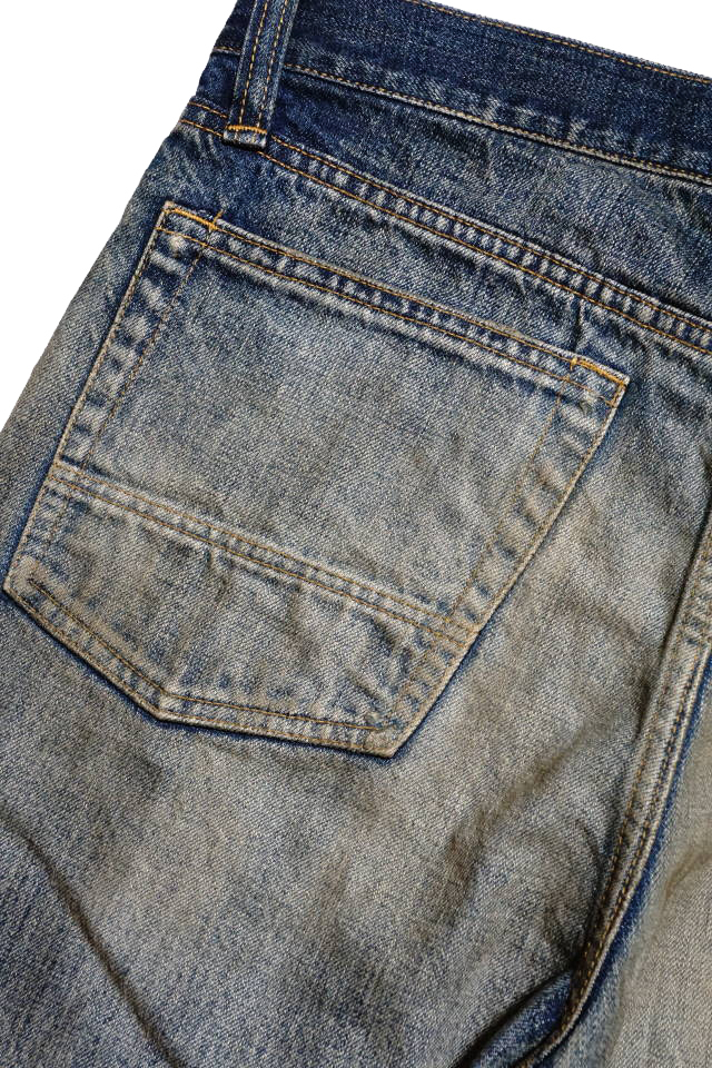 OLD CROW OLD RODDER - DENIM  PANTS VINTAGE FINISH