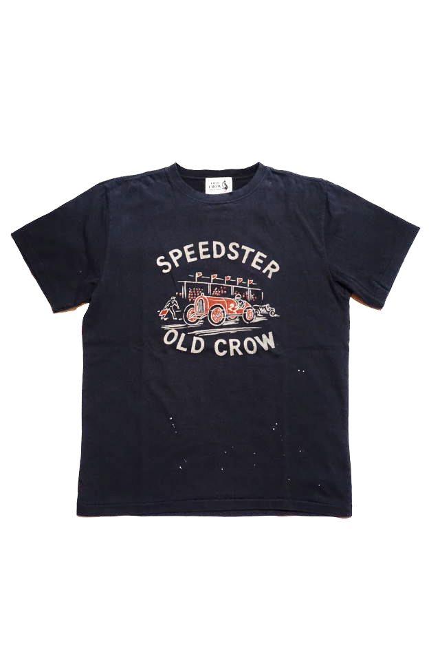 OLD CROW SPEEDSTER - S/S T-SHIRTS BLACK