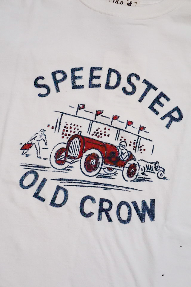 OLD CROW  SPEEDSTER - S/S T-SHIRTS WHITE