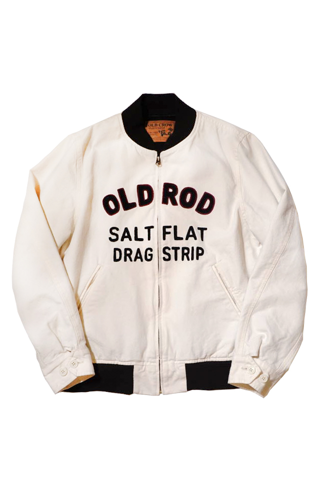 OLD CROW OLD ROD - JACKET IVORY