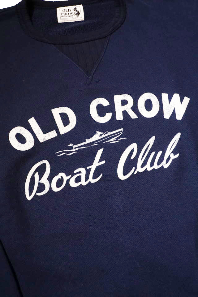 OLD CROW BOAT CLUB - SWEAT NAVY