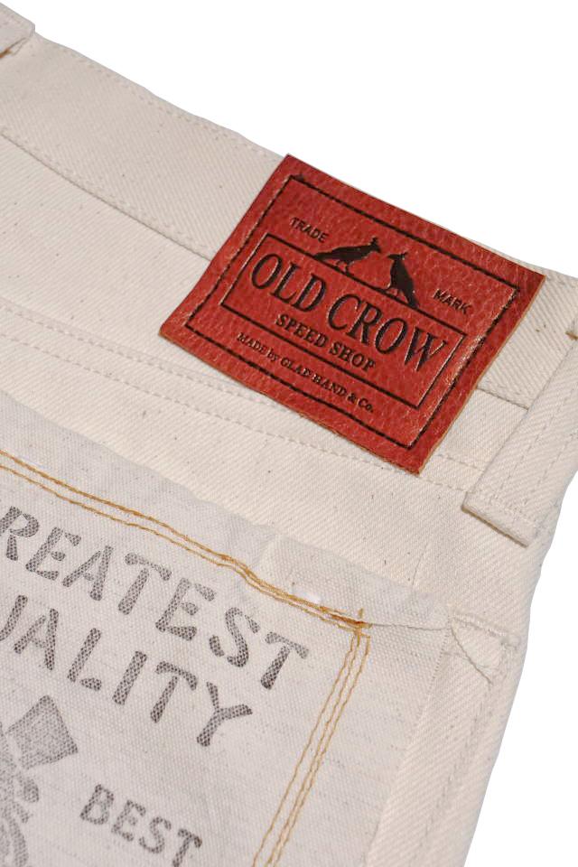 OLD CROW RODDER - PANTS IVORY RIGID