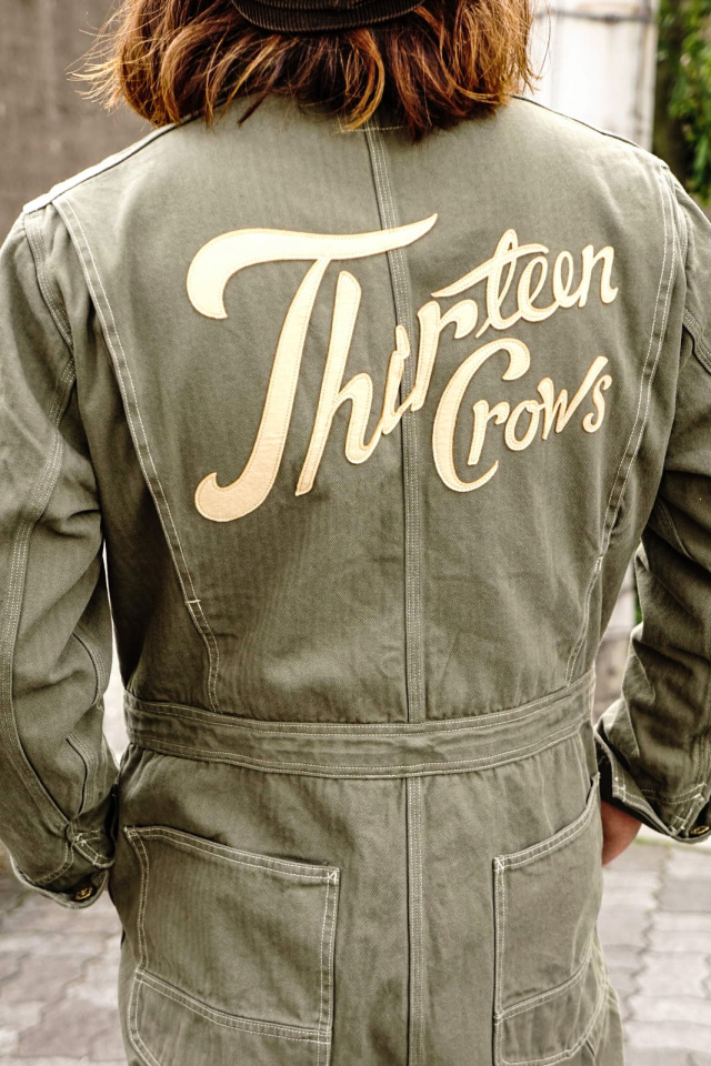 OLD CROW THIRTEEN CROWS - ALL IN ONE KHAKI